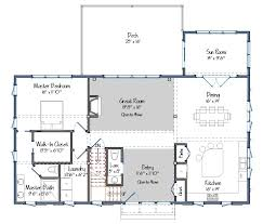 Open Living Space Floor Plans by Cabot Barn Home Yankee Barn Homes
