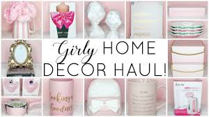 Unicorn Home Decor Girly Home Decor Haul Homegoods Tj Maxx Marshalls Hobby