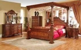 Four Post King Size Bedroom Sets Foter - Luxury king bedroom sets