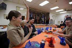 great lakes soldiers find thanksgiving home in palatine