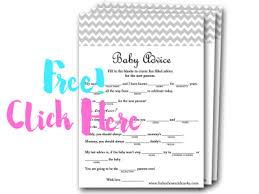 baby mad libs 30 baby shower ideas baby shower ideas themes