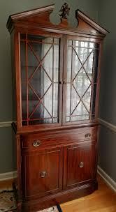 mahogany china cabinet furniture 1940s mahogany china cabinet rway northern furniture co antiques