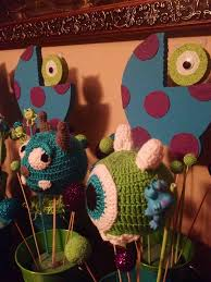 inc baby shower decorations monsters inc baby shower centerpieces pari decorations