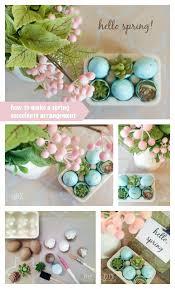 spring succulents arrangement diy show off diy decorating