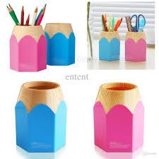 wholesale creative pen vase pencil pot makeup brush holder