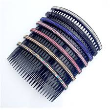plastic hair comb 71vobwxeozl comb pcs black plastic hair clip