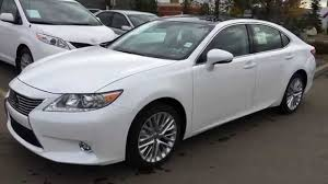 lexus es250 used car 2015 lexus es 350 executive package walk around review in white