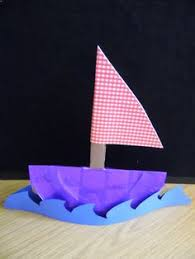 halves boat shapes craft transportation community pinterest