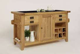 provence granite top kitchen island unit in oak beyond stores