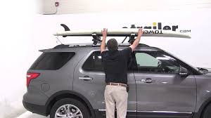 surfboard jeep review of the thule sup taxi stand up paddleboard carrier on a
