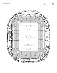 Cape Town Stadium Floor Plan by Hazza Bin Zayed Stadium Pattern Design