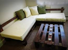 Diy Sofa Bed Diy Recycled Pallet Sofa Bed Furniture Ideas With Pallets