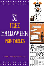 Free Halloween Printables Decorations How To Throw An Easy Halloween Party Crafty October Day 25 The