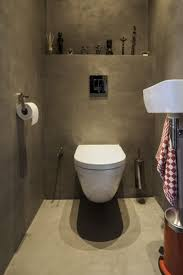 badkamer wc design modern wc beton ciré in het toilet prachtig house lavatory country