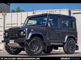 1997 land rover defender 90 1997 land rover defender 90 sw for sale in orange county ca