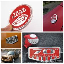 jeep wrangler rubicon logo for jeep wrangler sticker trail rated badge chrome grill emblem