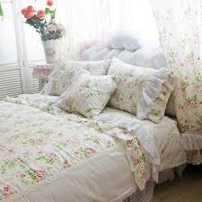 French Bed Linens Duvet Covers Rose Linen