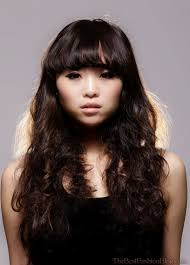 long hairstyle for asian women with side bangs 17 best ideas about