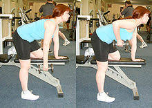 Bench Barbell Row Bent Over Row Wikipedia