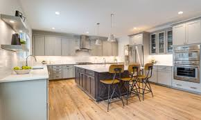 oak kitchen cabinets with oak flooring oak ls rift quarter sawn allegheny mountain