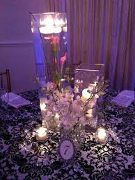 lighted centerpieces for wedding reception lighted centerpieces for wedding reception palm centerpieces for