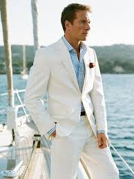 linen clothes for wedding summer grooms tuxedos white linen suits notched lapel men