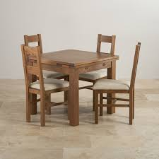 rustic oak kitchen table rustic solid oak dining set extending table with farmhouse and plain