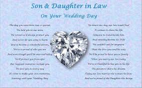 To My Wife On Our Wedding Day Card To Our Son On His Wedding Day Tbrb Info