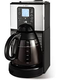 mr coffee under cabinet coffee maker amazon com mr coffee 12 cup programmable coffee maker with brew