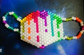 Kandi Mask First Kandi Mask By Roxypotter13 On Deviantart