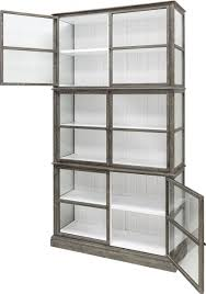 White Barrister Bookcase by