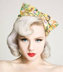 short blonde pin up hairstyles cakepins com vintage hair