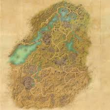 Treasure Map 3 Skyrim Tes Online Map Of Bangkorai