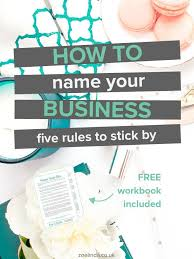 tattoo shop name generator how to name your business 6 rules to stick by hard work business