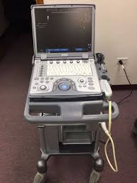 ge logiq e ultrasound system with 12l linear transducer