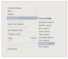 java null layout manager swing registering miglayout in netbeans ide 6 7 oracle geertjan s blog