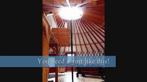 winter stout alpine yurt for big snow conditions youtube
