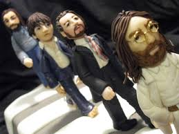 beatles cake toppers pin beatles figures cake toppers vintage items cake on