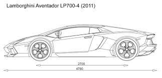 sketch of lamborghini gallardo automotive blueprints cartype