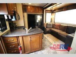 used 2011 dutchmen rv voltage 3200 toy hauler fifth wheel at fun
