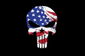 American Flag Skull American Flag Iphone Background