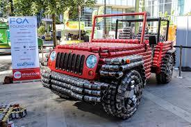 wrangler jeep green food cans made jeep wrangler looks like tin man u0027s ride we applaud