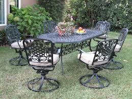 Aluminum Outdoor Patio Furniture by 17 Black Cast Aluminum Patio Furniture Electrohome Info