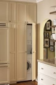 Laundry Room In Kitchen Ideas 133 Best Hidden Washer And Dryer Images On Pinterest Laundry