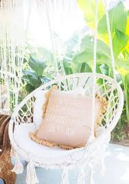 hanging swing chair bedroom shop stunning crochet hammock chairs at white bohemian http www