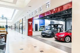 tesla dealership car manufacturers come to shopping centers ece