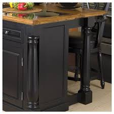 granite top kitchen island roll out leg granite top kitchen island in black and oak 5009 94