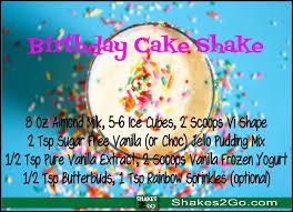 birthday cake shake shakes 2