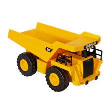 dump truck caterpillar job site machine dump truck