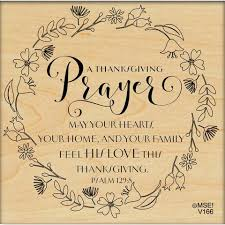 my sentiments exactly ltd mounted sts thanksgiving prayer